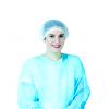 Charlottes en non tissé Blue Cap - 200 pièces / Medistock