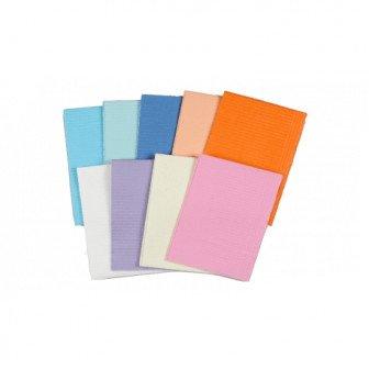 Serviettes plastifiées 33x48cm - Carton de 500 / Medistock