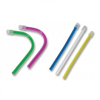 Pompes à salive amovibles sachet de 100 pompes Medistock