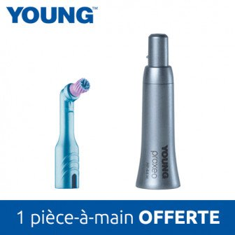 Young Starter kit - 3 boites contre-angles + 1 pièce-à-main / Young