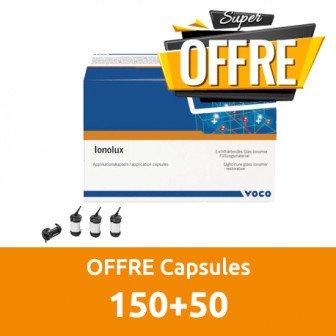 OFFRE Ionolux 150+50 capsules A3 / Voco