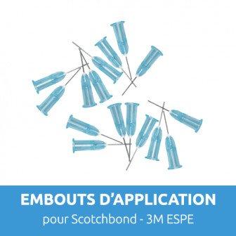 Embouts aiguilles pour Scotchbond Universal 25u 3M