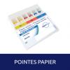 Pointes papier Vario Taper Paper 100u Steriblue