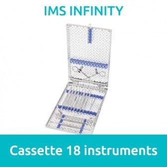 IMS Cassette Infinity DIN 18 instruments Hu Friedy