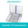 IMS Cassette Infinity 1/2 DIN 10 instruments  Hu Friedy