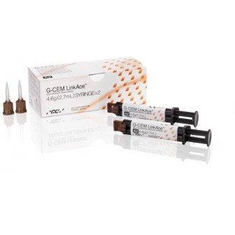 G-CEM LinkAce Kit 2 seringues (A2 + translucide) + embouts GC