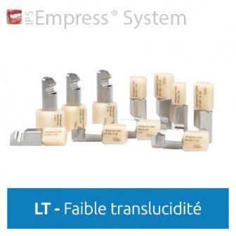 IPS Empress CAD LT (faible translucidité) - 5 blocs Ivoclar