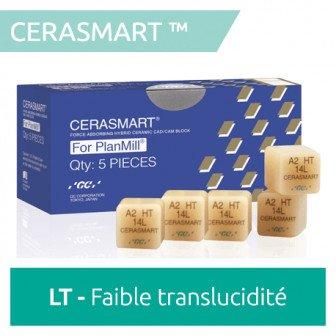 Cerasmart270 LT à faible translucidité 5 blocs GC