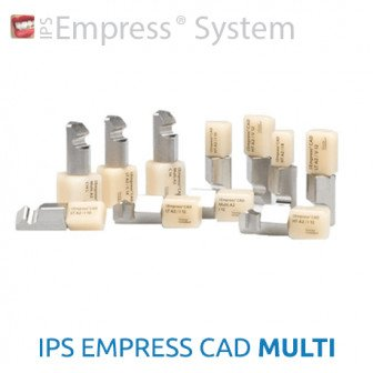 IPS Empress CAD MULTI - 5 blocs Ivoclar