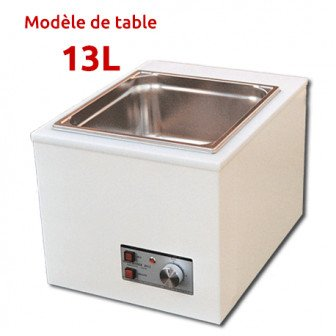 SONOCLEANER - cuve à ultrason de table 13L / Gamasonic