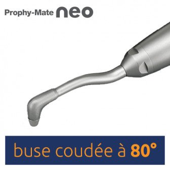 Buse stérilisable coudée 80° NSK