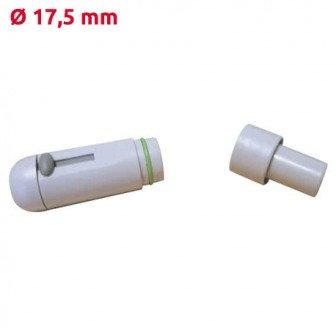 Embout d'aspiration pièce à main gris Diamètre 17,5mm Cattani