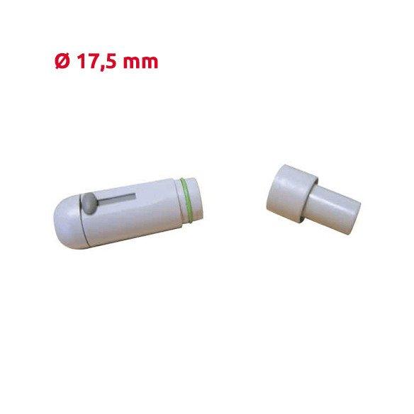 Embout d'aspiration pièce à main - gris Diamètre 17,5mm / Cattani