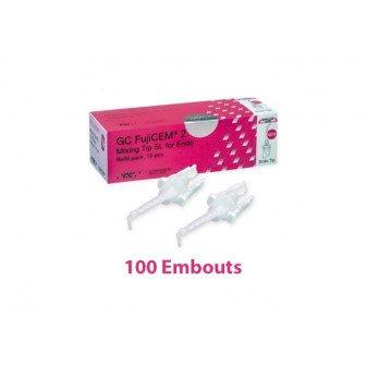 Embout Fujicem 2 Slide & Lock  100u GC