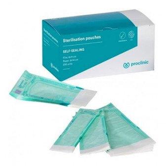 Sachet stérilisation autocollant 200u Proclinic