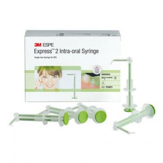 Express 2 Seringue Intra Oral Vert 20u 3M