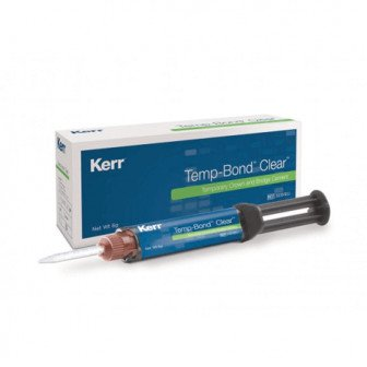 Temp-Bond Clear Seringue auto-mélangeur 6g Kerr
