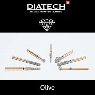 Fraise Diatech Diamant olive 5u Coltene