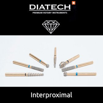 Fraise Diatech Diamant interproximale 5u Coltene