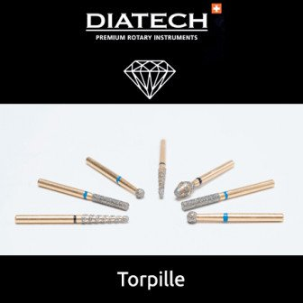 Fraise Diatech Diamant torpille 5u Coltene