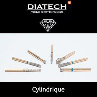 Fraise Diatech Diamant cylindre - 5u / Coltene