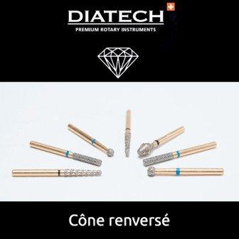 Fraise Diatech Diamant cône renversé 5u Coltene