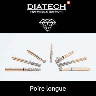 Fraise Diatech Diamant poire - 5u / Coltene