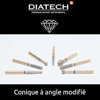 Fraise Diatech Diamant cône à angle modifié - 5u / Coltene