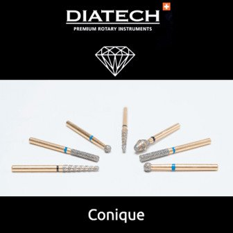 Fraise Diatech Diamant conique - 5u / Coltene