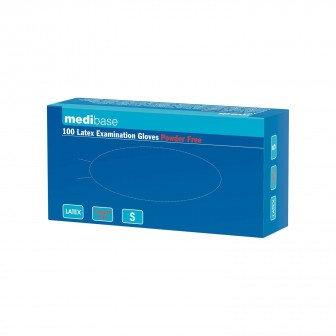 Gants en latex non poudre - La boîte de 100 gants Medibase