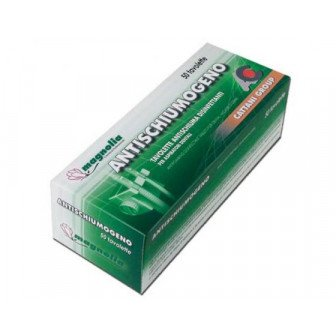 Tablettes antimousse désinfectantes 10x50 pastilles Cattani