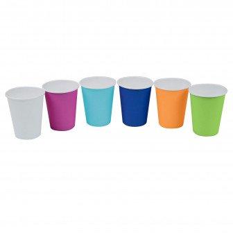 Gobelets papier colorés Medibase 2000u