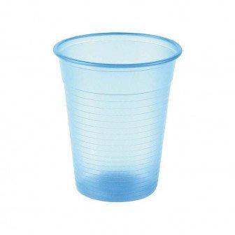 Gobelets en plastique bleu clair 3000u Medibase