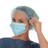 Masque de chirurgie à élastique Mask+ 50u Medistock