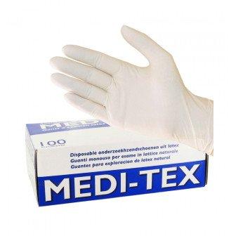 Gants Latex légèrement poudrés Medi-Tex -100 gants Medistock