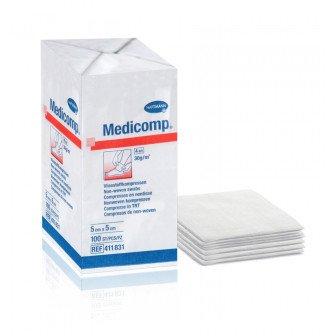 Medicomp compresses non-tissées non-stériles - Boîte de 100 / Hartmann