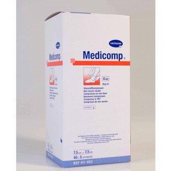 Medicomp compresses stériles non-tissées - Boite de 200 / Hartmann