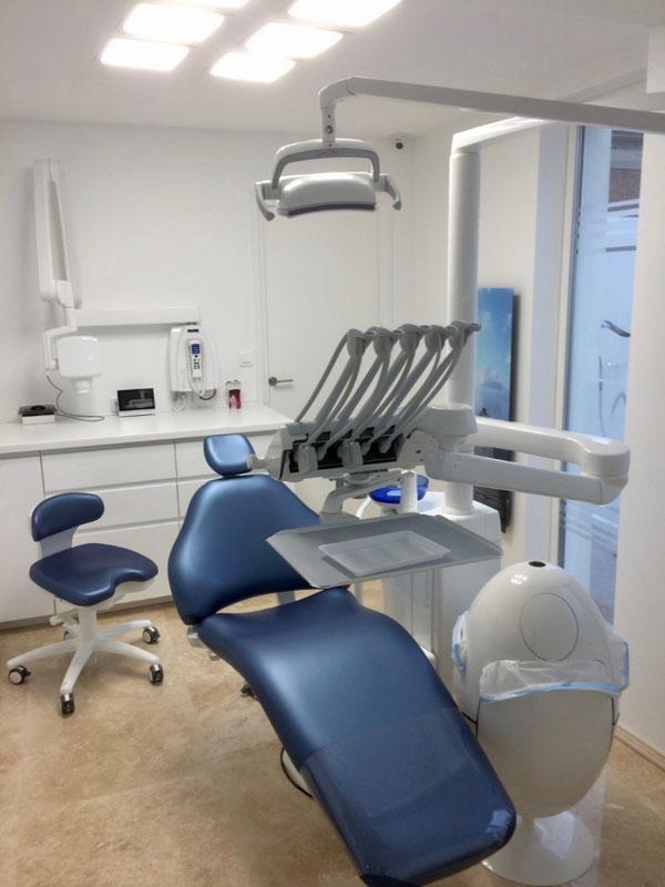 Un cabinet dentaire installé par Safir Dentaire